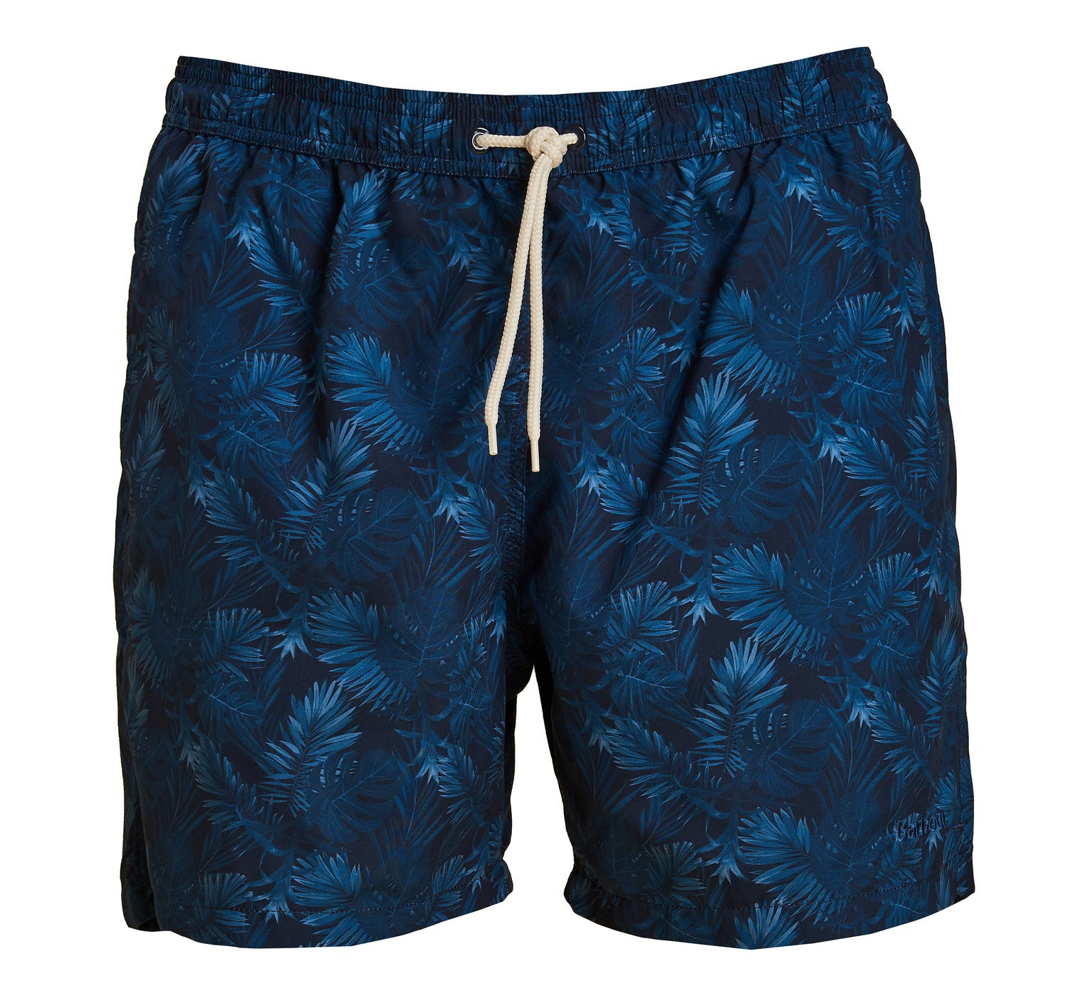 ID7034-Barbour Blue  Tropical Swim Shorts