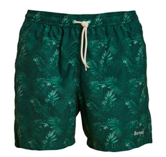 ID7033-Barbour Green Tropical Swim Shorts