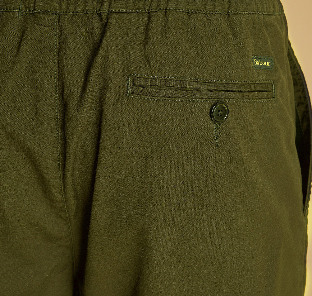ID7439-Barbour Bay Olive Shorts