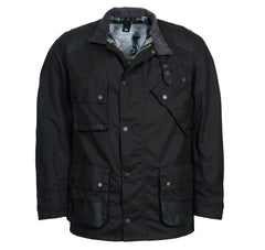 ID8053-Barbour Icon Black International Jacket