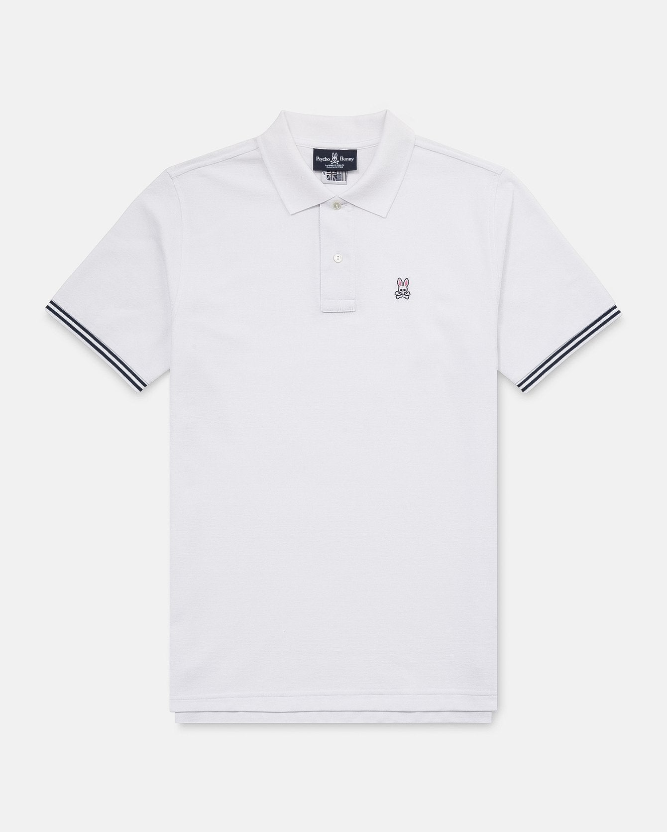 Psycho Bunny White Northgate Polo 7390