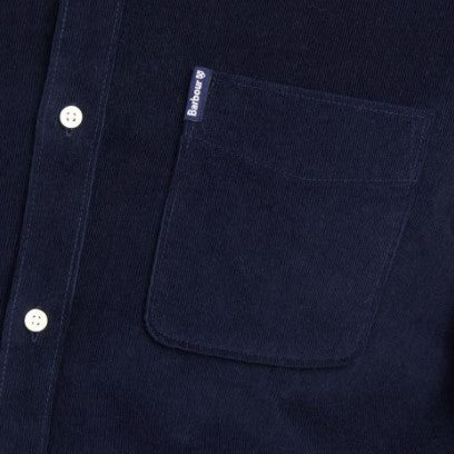ID20053-Barbour Navy Cord Shirt