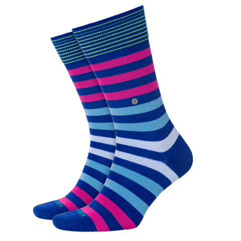 Burlington Blackpool Fuschia/ Royal Sock 5590