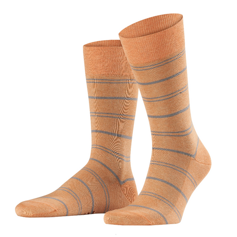 Falke Washed Orange Hoop Sock