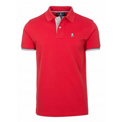 Psycho Bunny St Lucia Red Polo-Shirt