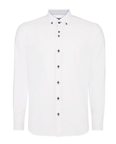 Remus Uomo White Button Down Shirt