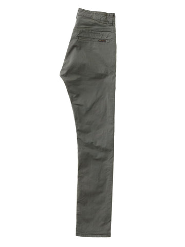 ID10122-Nudie Slim Adam Bunker Green Chino
