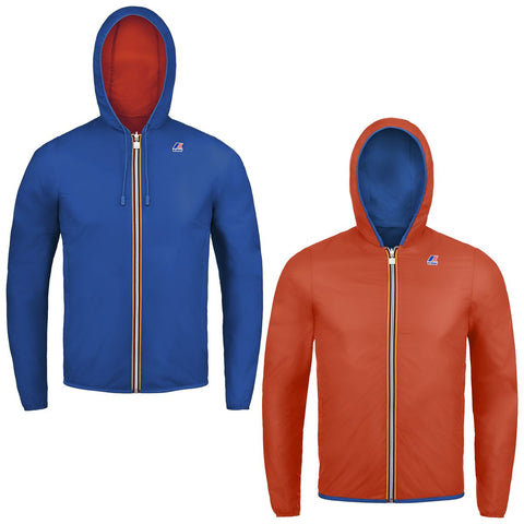 K-Way Blue Orange Jacques plus Reversible Jacket