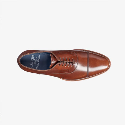 Barker Hartley Cedar Hi Shine Shoe