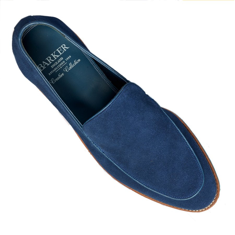 ID7420-Barker Toledo 2 Pacific Blue Loafer