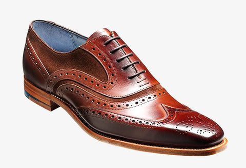 Barker Shoe McClean Brown Calf