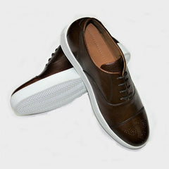 Carlos Santos Brown Cap Trainer 3420 Was £189