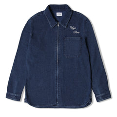 Edwin Demo Zip Blue Mid Stone Shirt