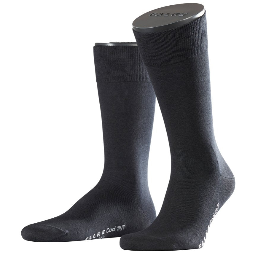 ID5571-Falke Black Cool 24/7 Sock