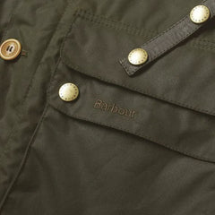 ID20080-Barbour Olive Game Parka