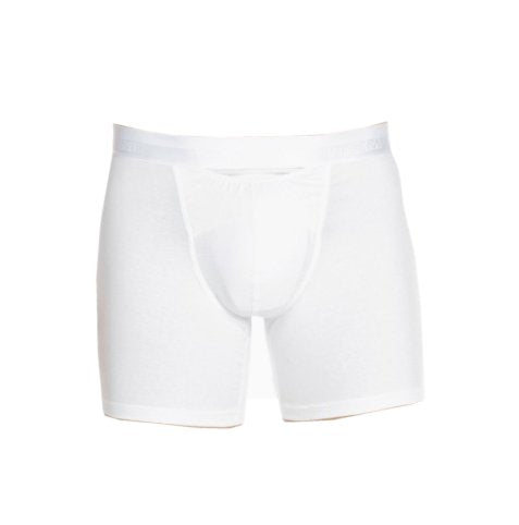 HOM HO1 White Long Boxer Briefs