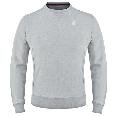 K-Way Augustine Grey French Terry Sweatshirt-5461