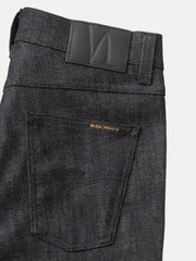 Nudie Lean Dean Deep Dark Comfort Jean-6632
