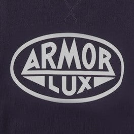 Armour Lux Navy Logo Sweatshirt 8430