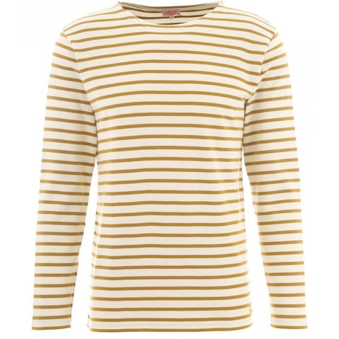 ID5240-Armor Lux Yellow Long Sleeve T-Shirt