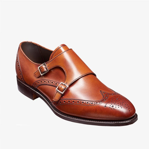 Barker Fleet Antique Rosewood Shoe 4474