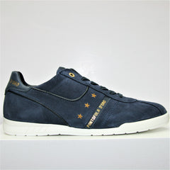 Pantofola d'Oro-Coverciano Suede Dress Blues