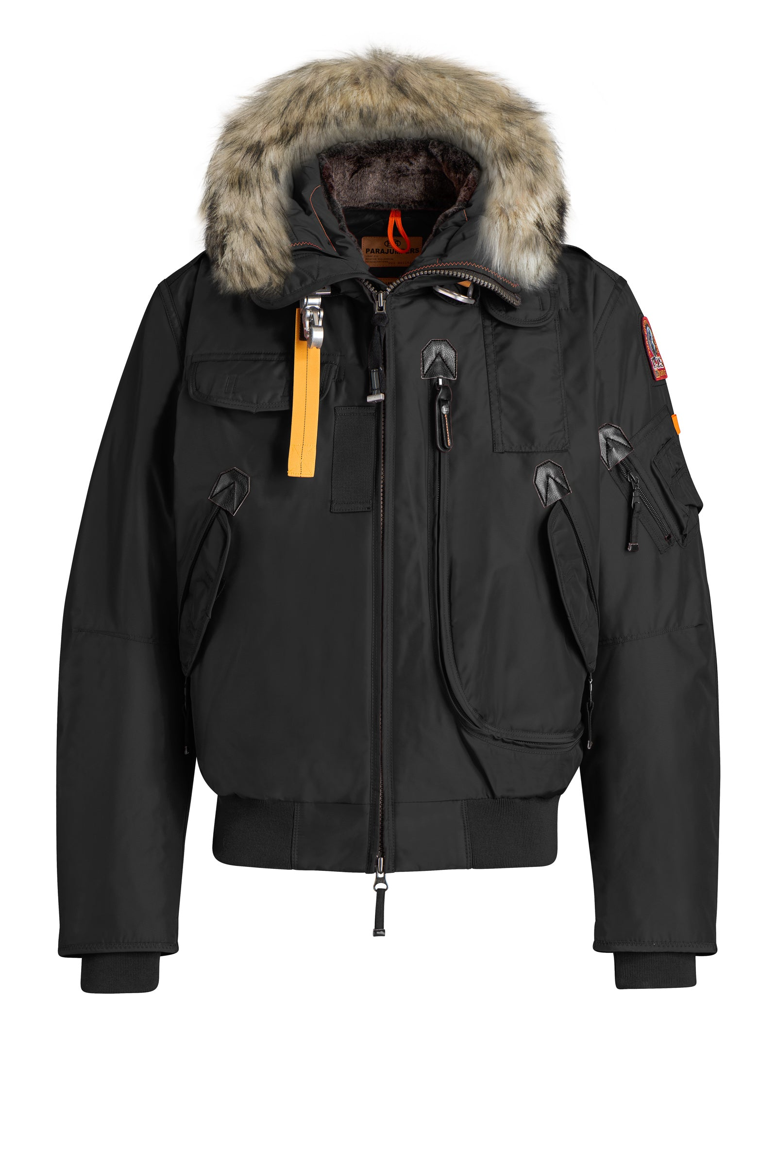 ID6195-Parajumpers Gobi Black Coat