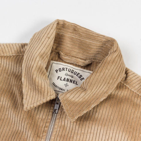 Portuguese Flannel Camel Corduroy Overshirt