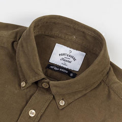 Portuguese Flannel Olive Lobo Shirt