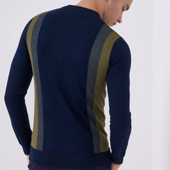 Remus Uomo Twin Stripe Turtle Neck