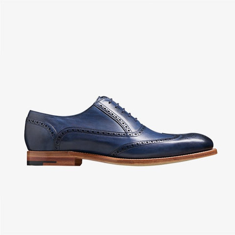 Barker Valiant Navy Shoe 3430
