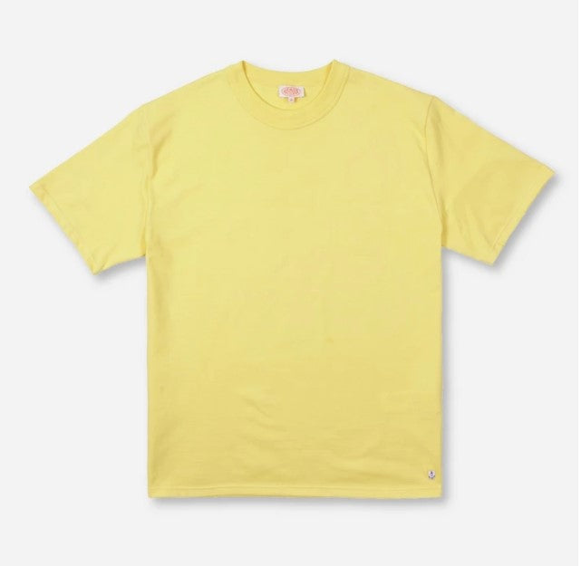 ID10078-Armor Lux Yellow Crew T-Shirt