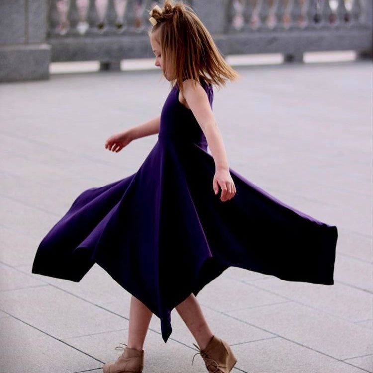 Girls Dresses| Purple Dress