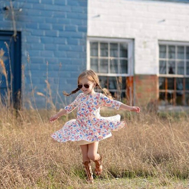 Twirly Blossom Dress
