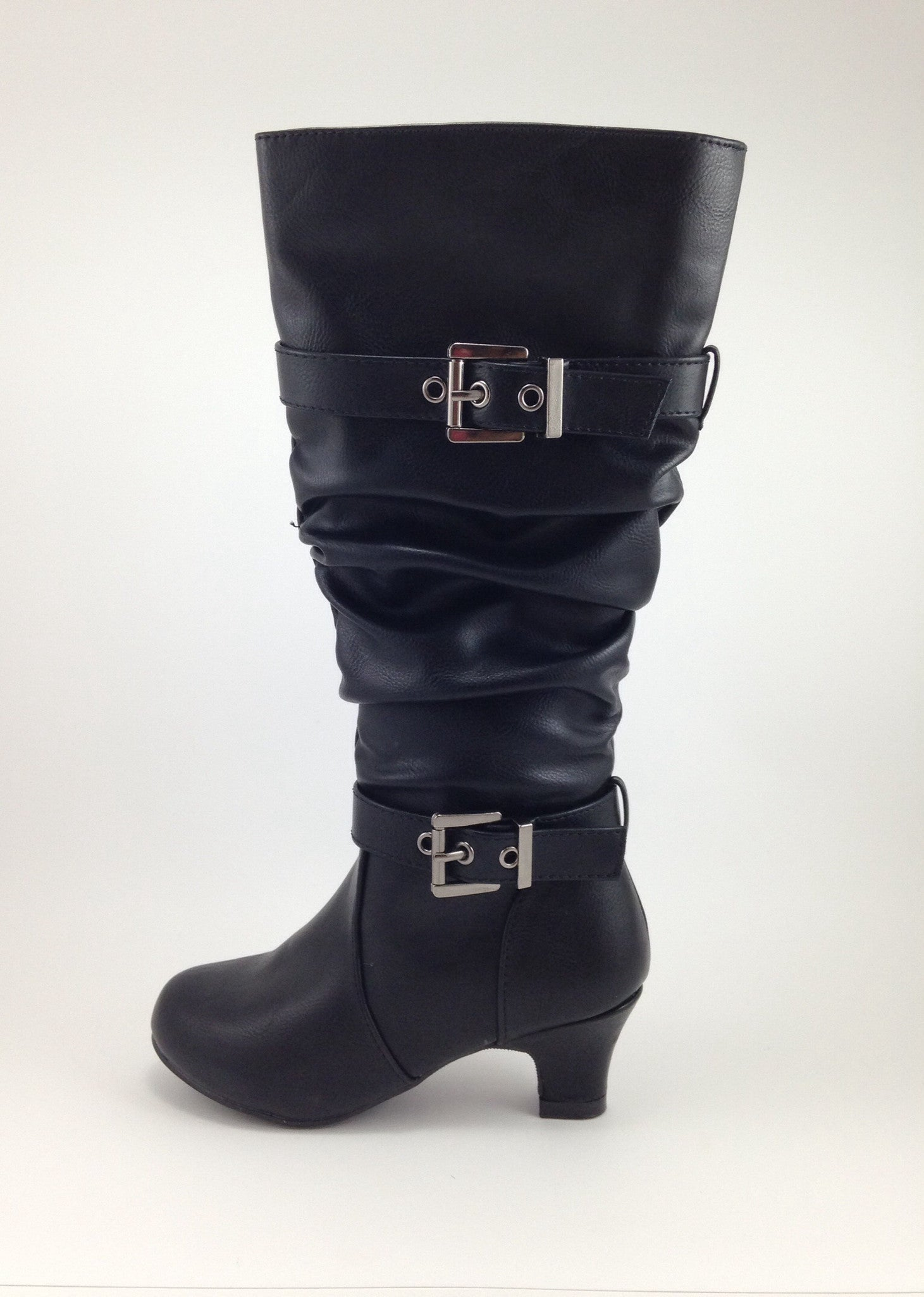 tall black boots for girls