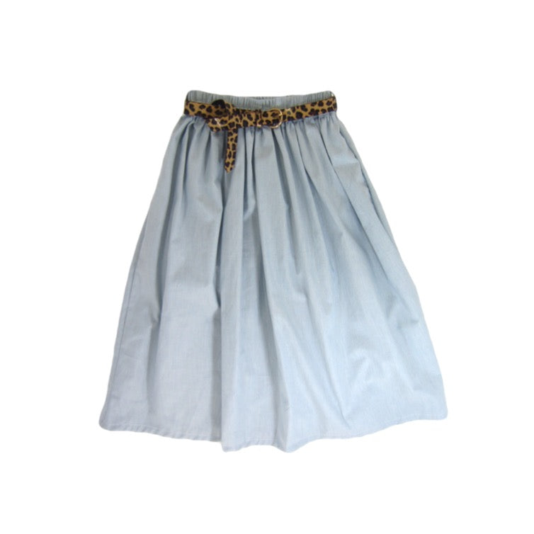 Girls Chambray Skirt - Liberty Lark