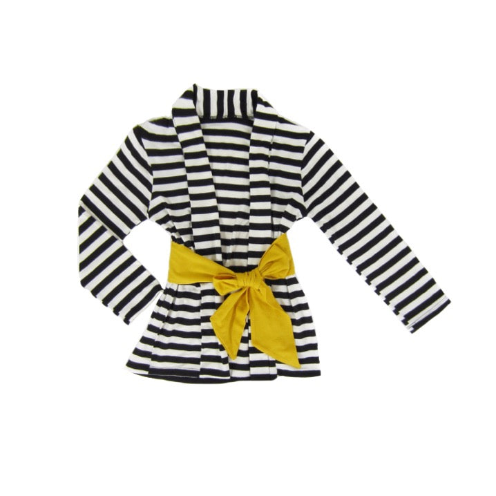 Girls Striped Cardigan - Liberty Lark