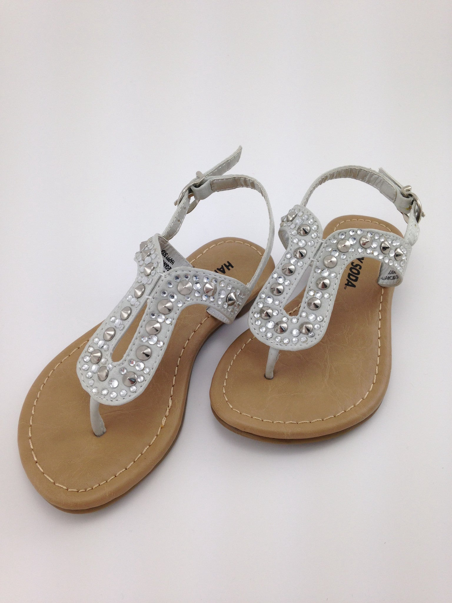 Girls Silver Sandals | Shoes for Girls