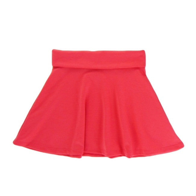 Girls Coral Skater Skirt | Liberty Lark
