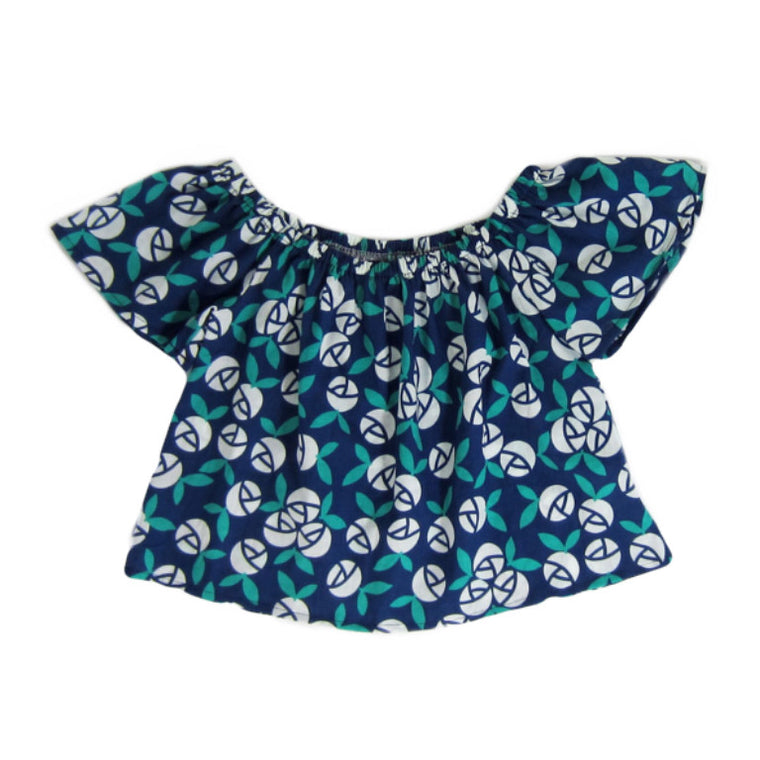Girls Floral Off the Shoulder Top - Liberty Lark