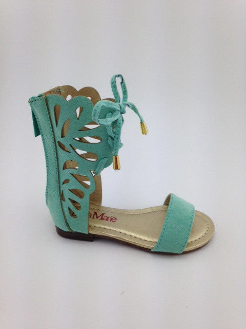 Girls Mint Boho Sandals