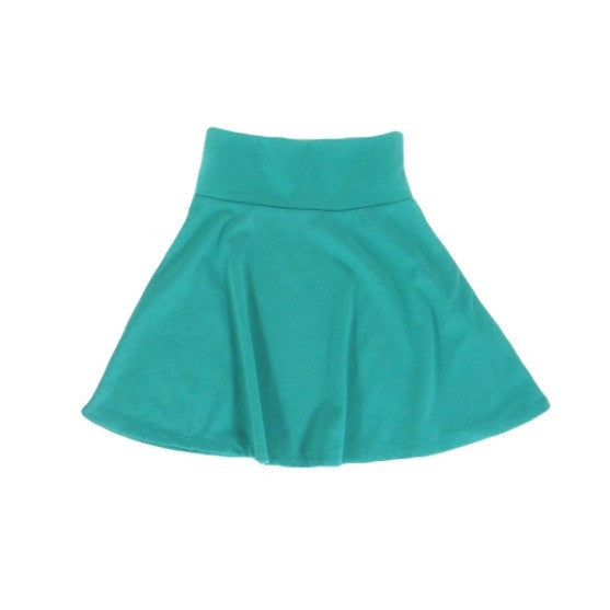 Girls Mint Skater Skirt | Liberty Lark