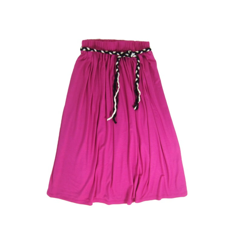 Girls Long Pink Skirt