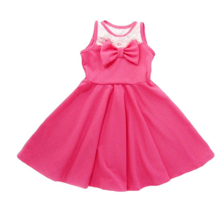 Girls Pink Dress - Liberty Lark