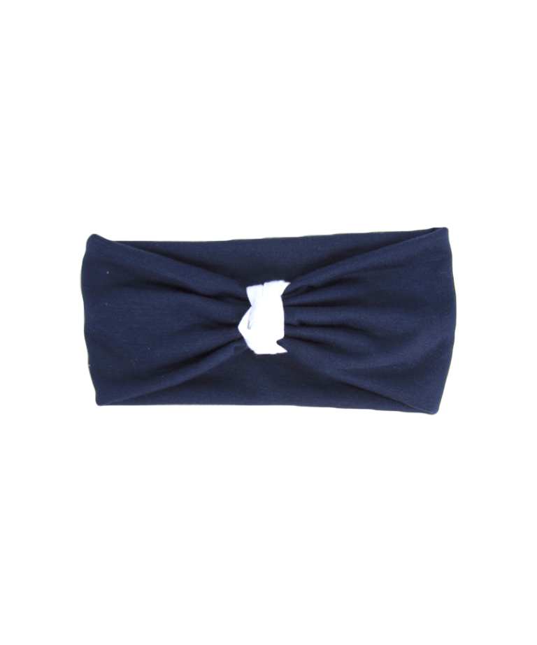 Girls Navy Blue Headband