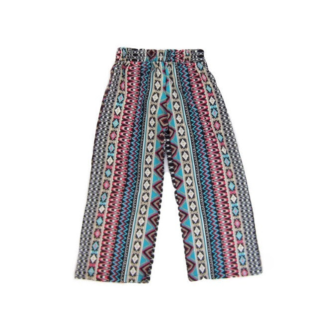 Girls Tribal Palazzo Pants