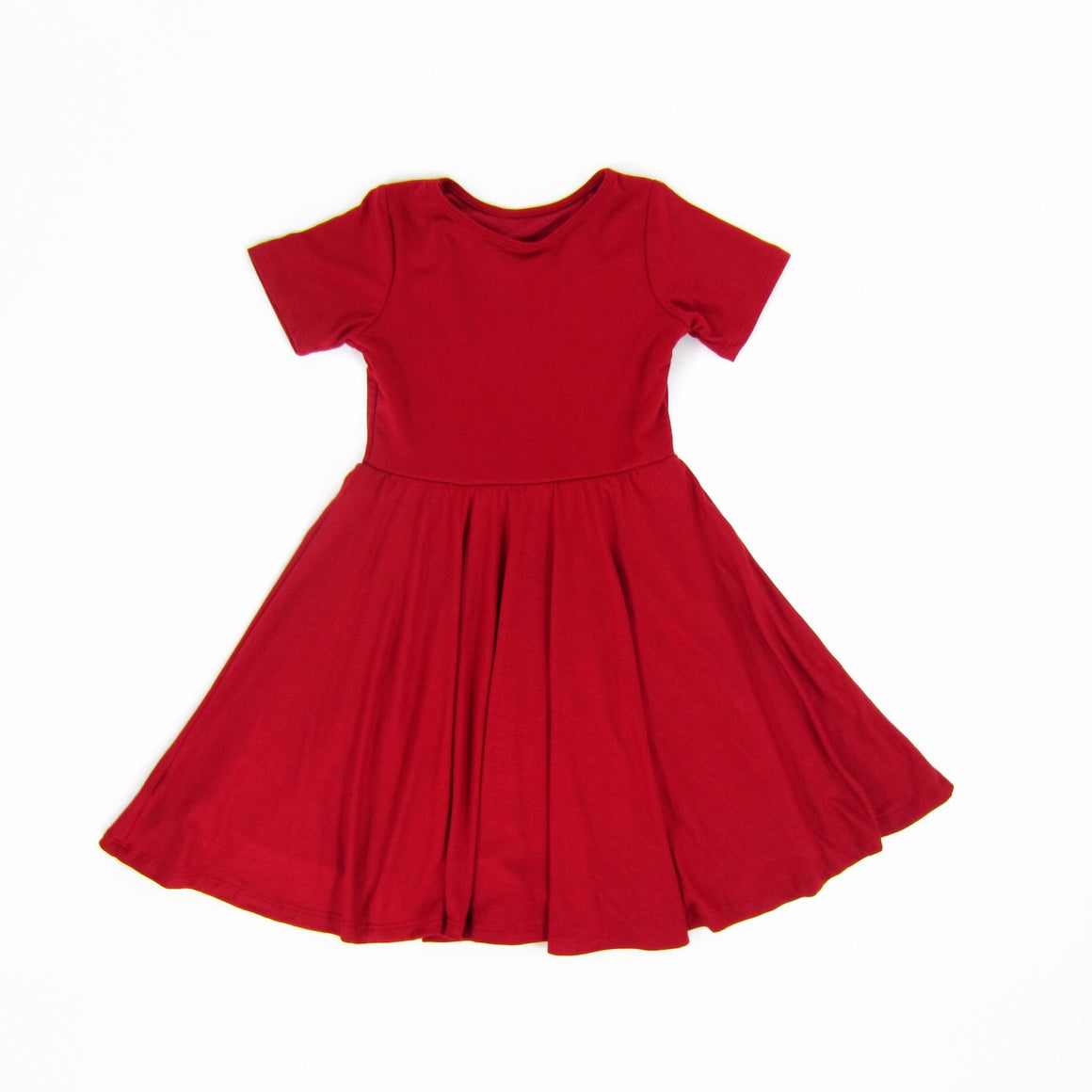 Girls Red Twirl Dress - Liberty Lark
