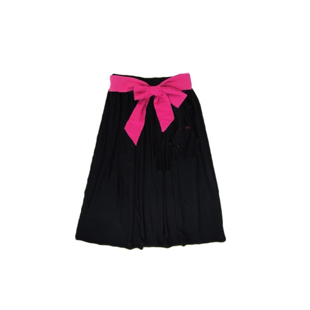Girls Black Maxi Skirt