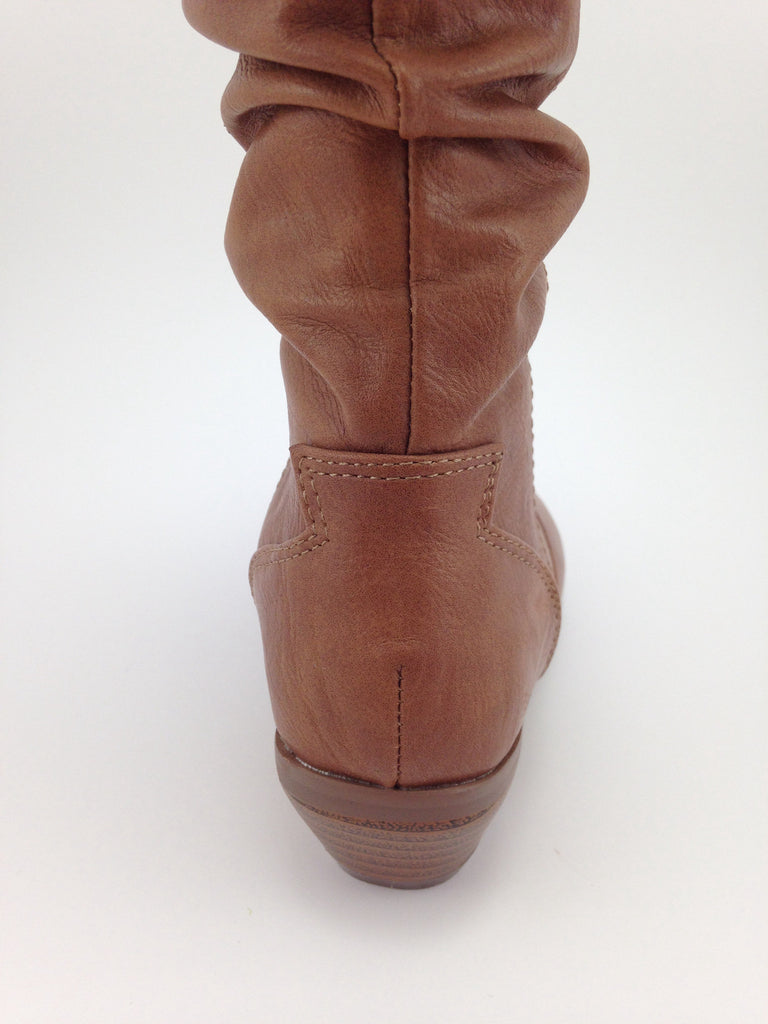 Girls Tan Western Boots