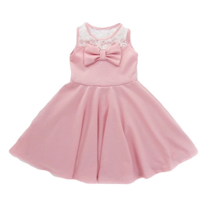 Girls Blush Pink Dress | Liberty Lark